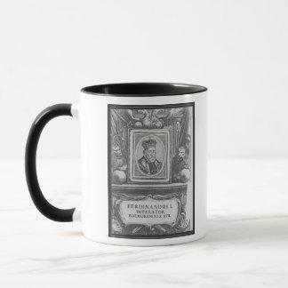 Mug Empereur Ferdinand I, roi de la Bohême