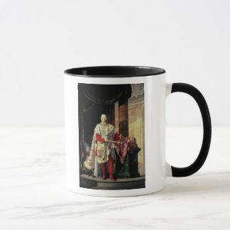 Mug Empereur Francis I de l'Autriche, 19ème siècle