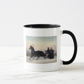 Mug Empereur Nicholas I conduisant dans Sleigh