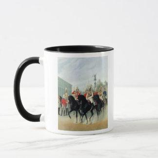 Mug Empereur Nicholas I et duc grand Alexandre