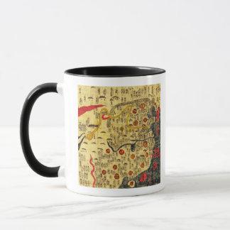 Mug Empire de Ming, ChinaPanoramic MapChina