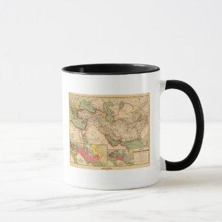 Mug Empires antiques du monde des Persans, Macédoniens
