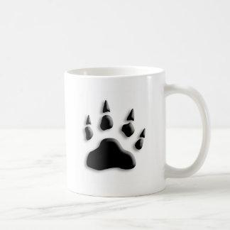 Mug Empreinte de patte d'ours blanc