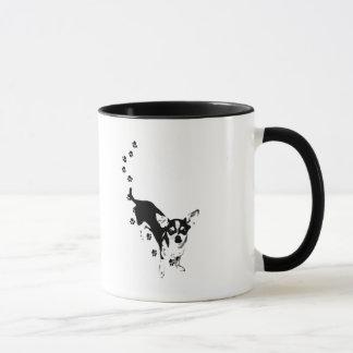 Mug Empreintes de pattes de chiwawa