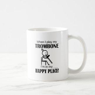Mug Endroit heureux de trombone