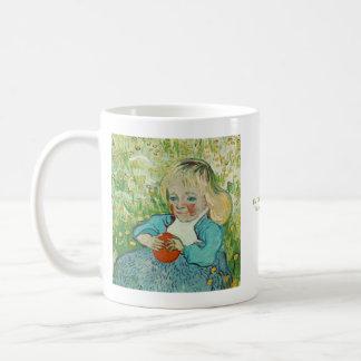 Mug Enfant avec une orange par Vincent van Gogh