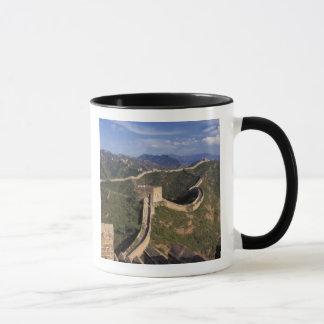 Mug Enroulement de Grande Muraille par la montagne,