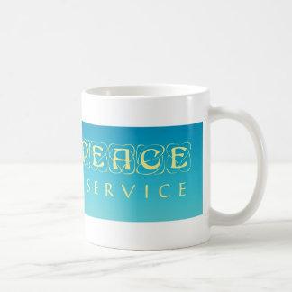 Mug Enseignez la paix par le service