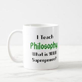 Mug Enseignez la philosophie