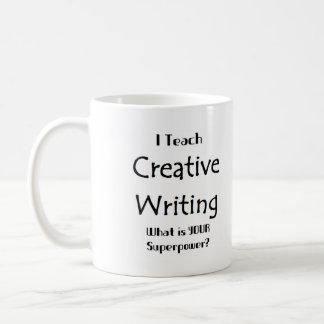 Mug Enseignez l'écriture créative