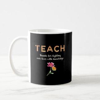 Mug ENSEIGNEZ, professeur merci dans les lettres