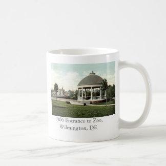 Mug Entrée 1906 au zoo, Wilmington, De