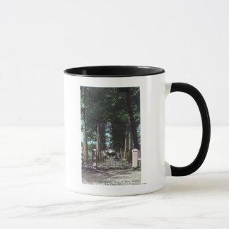 Mug Entrée à la vue de Theodore Wagner de maison