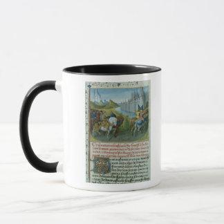 Mug Entrée f.22 du franc 6465 de Louis VII dans