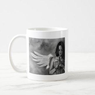 Mug Épée de fille d'ange de défenseur