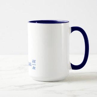 Mug équation fraîche de maxwell
