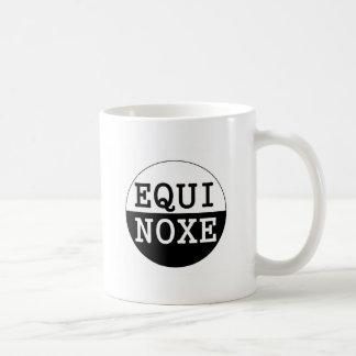 Mug équinoxe noir et blanc