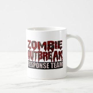 Mug Équipe de réponse de manifestation de zombi