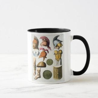 Mug Équipement militaire romain, de 'Le Costume Ancien