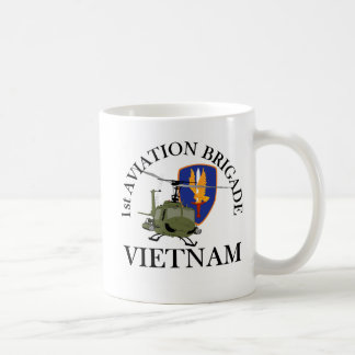 Mug ęr Vétérinaire Huey du Vietnam de Bde d'Avn