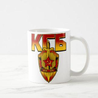 Mug Ère russe de Soviétique d'insigne de KGB