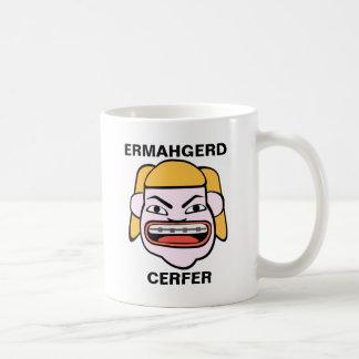 Mug Ermahgerd Cerfer