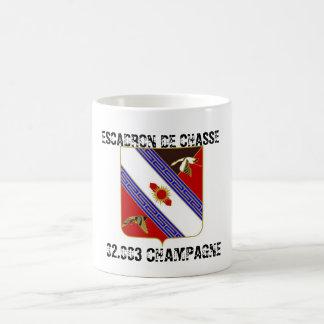 Mug Escadron de Chasse 02.003 Champagne - Insigne