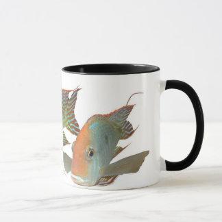 """Mug Espèces """"tête orange de Geophagus de Tapajos """""""