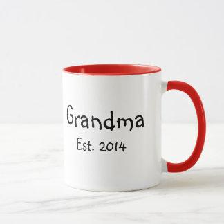 Mug Est de grand-maman. 2014