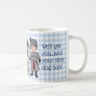 Mug Et votre petit chien aussi ! Singe de vol de garde