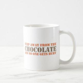 Mug Étape à partir du chocolat