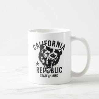 Mug État d'esprit de République de la Californie