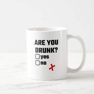 Mug Êtes-vous ivres ? Oui aucun