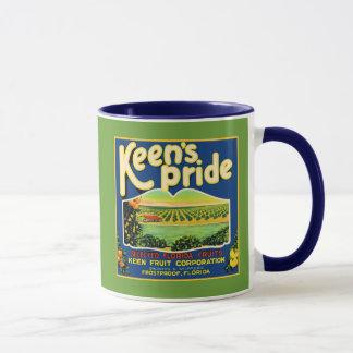 Mug Étiquette incongelable de la Floride de fierté