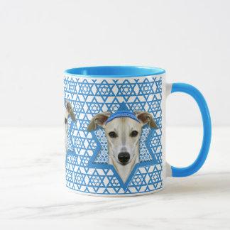 Mug Étoile de David de Hanoukka - whippet