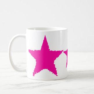 Mug Étoile en lambeaux de roses indien punks girly