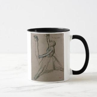 Mug Étude d'Edgar Degas | d'un danseur
