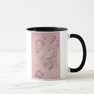 Mug Étude d'Edgar Degas | pour le portrait d'Edouard