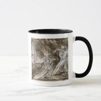"""Mug Étude pour """"Saul et la sorcière d'Endor """""""
