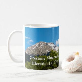 Mug Évènements mémorables de Crestone le Colorado *