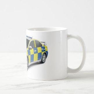 Mug evo de lancier de mitsubishi de police