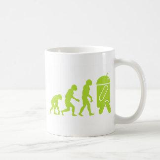 Mug Évolution androïde