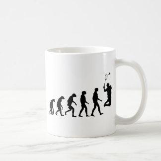 Mug Évolution de badminton