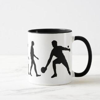 Mug Évolution de ping-pong