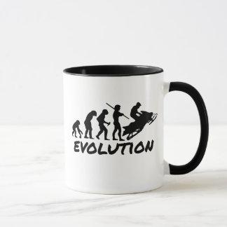 Mug Évolution de Snowmobile