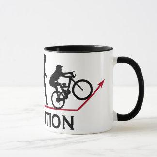 Mug Évolution de vélo de montagne