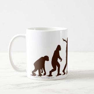 Mug Évolution oh Yaaaah de singe de chaussette !