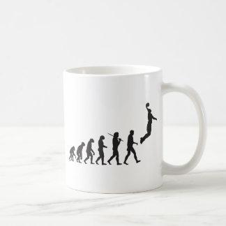 Mug Évolution - saut de basket-ball