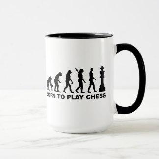 Mug Évolution soutenue pour jouer aux échecs