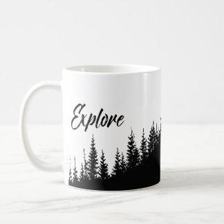 Mug Explorez la forêt jolie